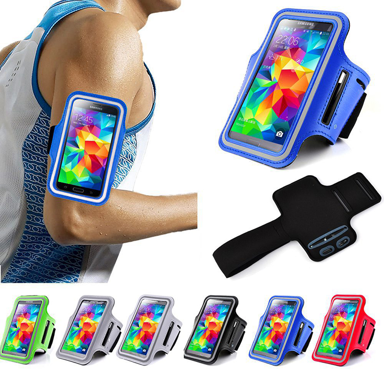 Universal multifuction Neoprene Arm Band, Mobile Phone Jogging Sports Running Arm Band