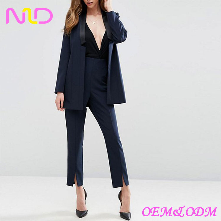 wholesale women business suits womens plus size pant suits photos sexy pant fashion suits striped