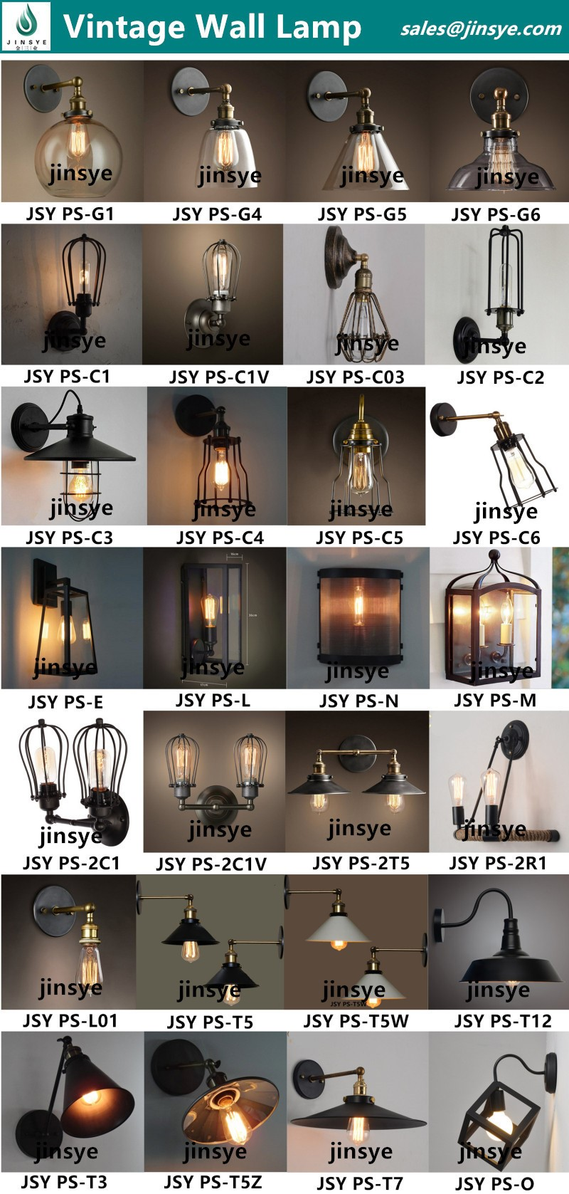 Loft style industrial water pipe wall lamps wall mounted light