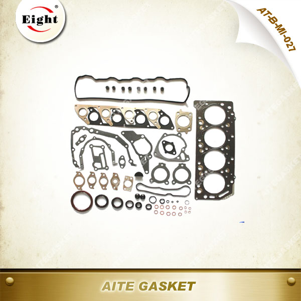 < OEM Quality> AITE Gasket Mitsubishi 2005 L200/NATIVA/ MONTERO/PAJERO 2.5L diesel cylinder head gasket kit for engine 4D56