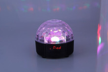 Disco Light Bluetooth Speaker With LED Light / Special Bluetooth Speaker Ball Lamp With Remote