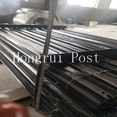 High quality galvanized or painted used metal Y shaped fence post