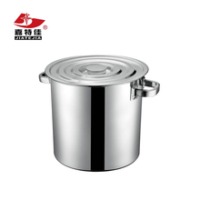 201 Non-magnetic stainless steel tall straight-shaped commercial stock pot/soup pot