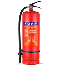 CE portable type 9liter 6%afff foam fire extinguisher for car