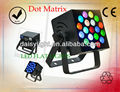 Indoor 160W LED Flat Lights 19leds High Light 8W LED RGBW 4in1 DMX512 Dot Matrix Effect LED Matrit Lights