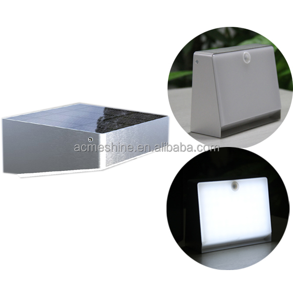 Decor Garden Solar Light For Fence Post,Solar Powered Outdoor Wall Light