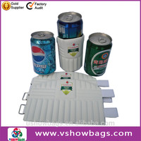 aluminium foil cooler bag plastic wine bottles neoprene cooler bag for 1.5l bottle