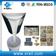 Molding RTV silicone rubber for reconstructed cement stone