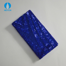 Young Girls Party Dress Cloth Material Polyester Jacquard Sparkle Sequence Fabric