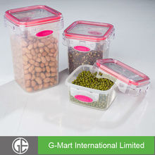Plastic Food Storage Container Large Airtight Food Storage Containers