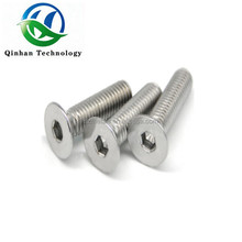 Hexagon socket thin head cap machine screw