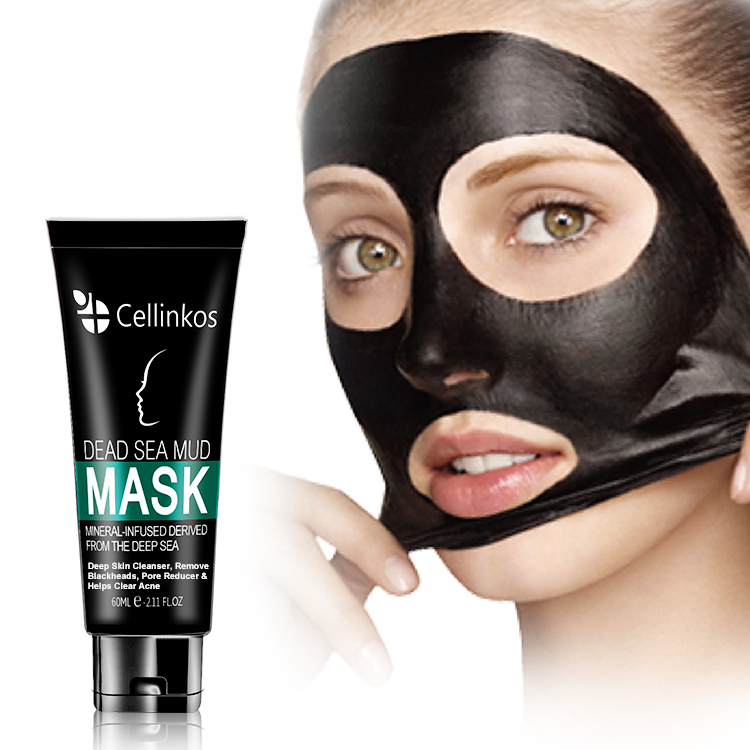 deep sea mud blackhead remover peel off black mask facial