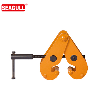 JT series universal steel lifting beam clamps adjustable girder clamp
