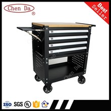 new arriving stainless steel garage cabinet trolley toolbox tool cabinet with tools set