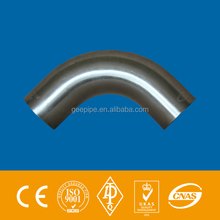 asme b16.49 big size carbon steel 90d bend pipe