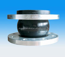 Single Sphere Expansion Rubber Joint, with forged steel flanges