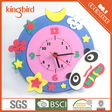 Christmas Gift For Kids Foam Jigsaw EVA Puzzle Craft Clock Kit