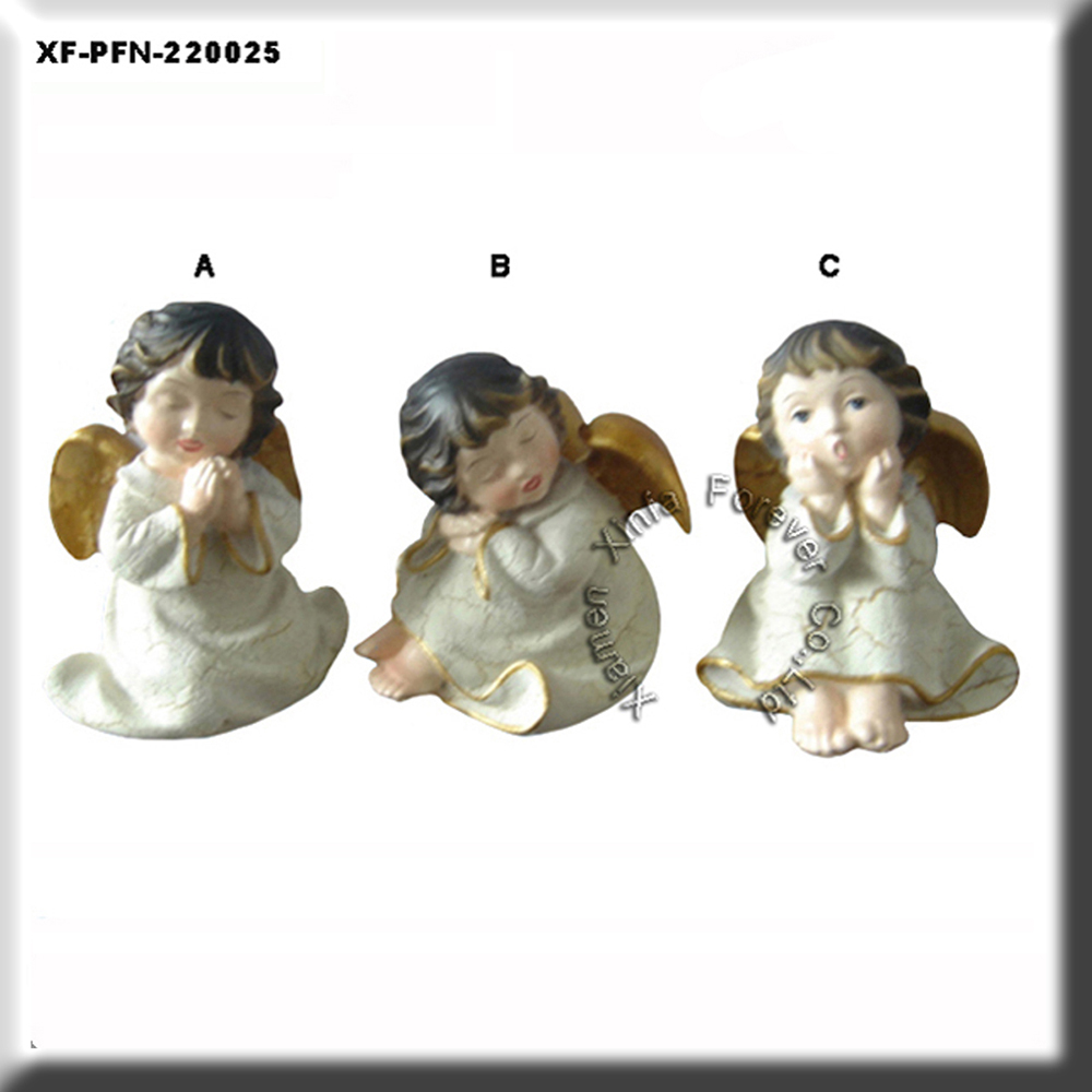 polyresin angel statue decoration