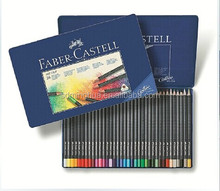 art grip Faber castell color pencil in blue tin box for sale