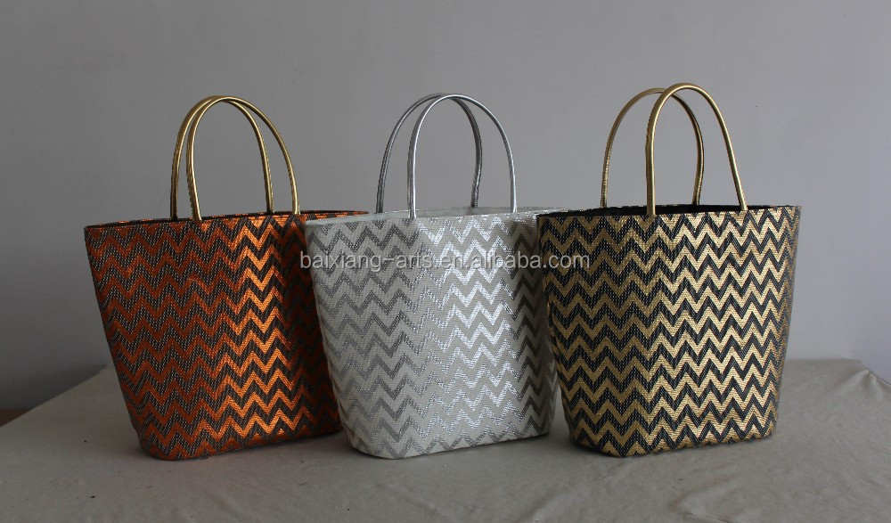 2014 style ladies large straw beach bag