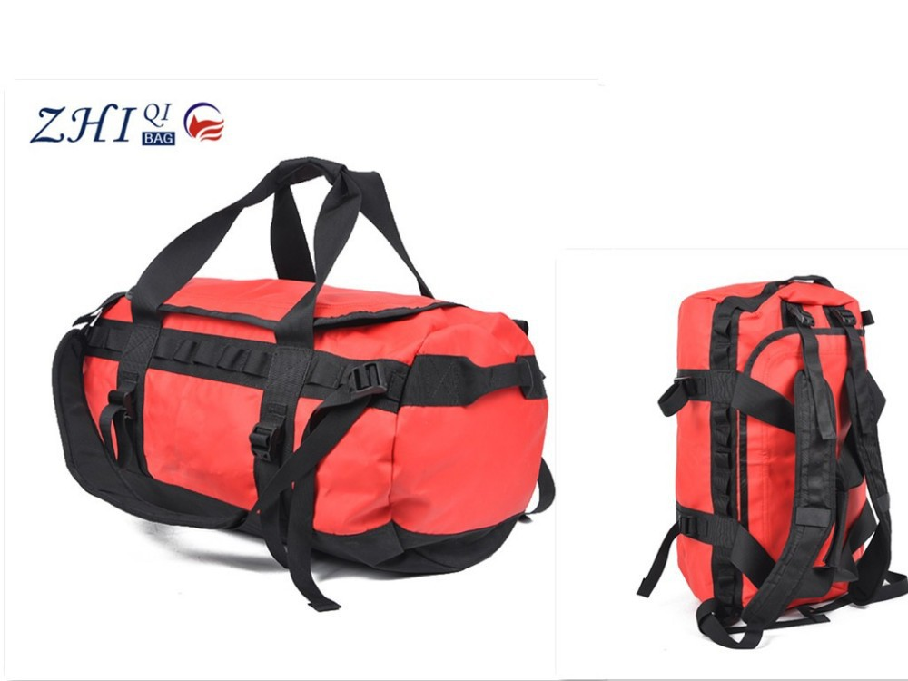 ZQ-B-036 Dongguan PVC factory manufacture BSCI hiking waterproof travel bag