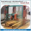 lumber portable double blade circular saw mill