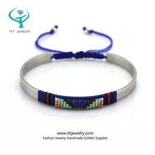 Yiwu Latest Simple Design Bracelet for Girls Daily Fashion Wear Bangle