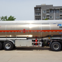 3 Axle Aluminum Fuel Semi Trailer