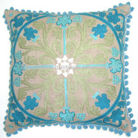 ribbon embroidery cushion covers,hand embroidery designs of cushion Cover
