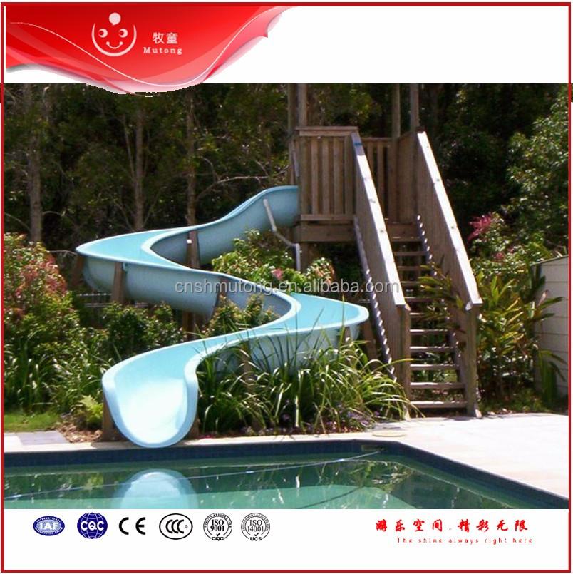 Swimming Pool Water Slide Fiberglass Water Park Slides For Private Buy Hot Sale Fiberglass