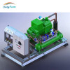 Refrigeration condenser units, condensing unit for freezer