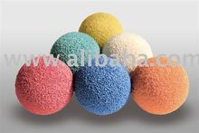sponge rubber cleaning ball