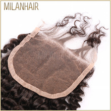 Best Selling Products Brazilian Curly Round Lace Envelope Japanese Closure