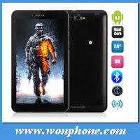New arrival FreeLander PD10 3GS Tablet PC MTK8312 Dual Core 7 Inch Android 4.2 Dual Sim Card WCDMA 3G GPS Monster Phone 4GB