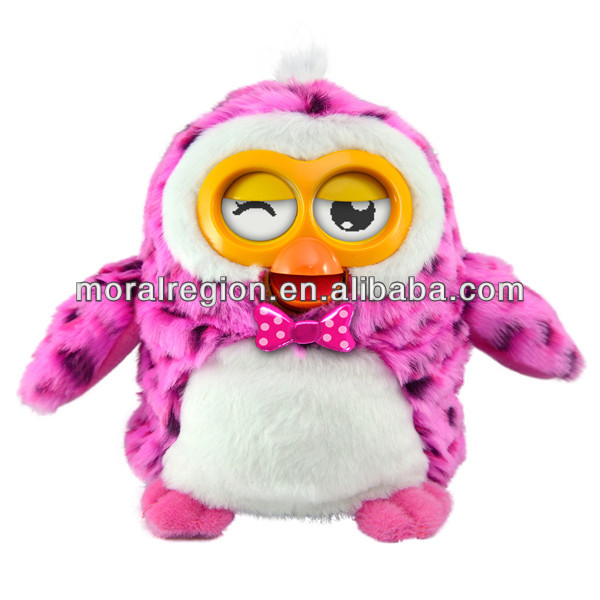 New plush interactive animal toy, talking electronic pet, true toy factory