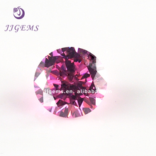 high quality synthetic cz wholesale name pink gemstone