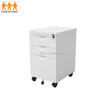 Cheap 3 drawer movable flat file cabinet desktop filing drawers