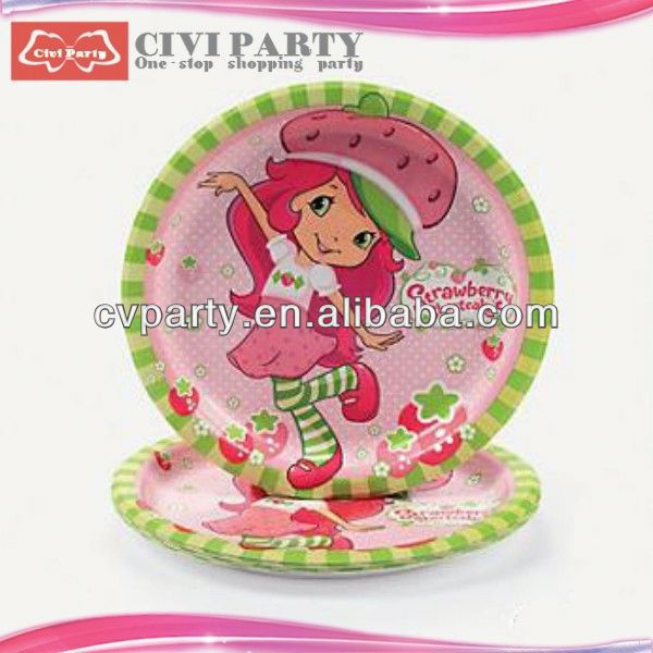 old factory Birthday Party Theme Packs Plates valentines day specialty bakeware sets cake plate unique paper dish
