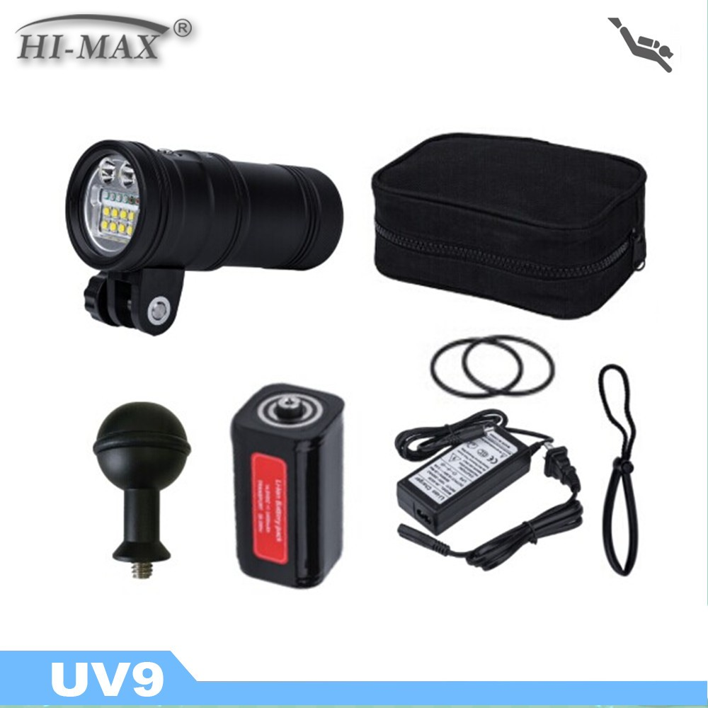 Made in China scuba diving spot/video powerful diving torch light