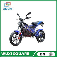 Yellow 48V20AH 1000W Battery Electric Motorcycle with CE Certification