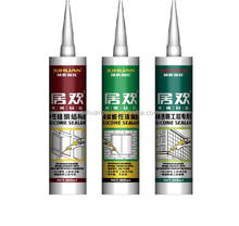 JUHUAN China manufacture silicone sealant price/acetic cure silicone sealant