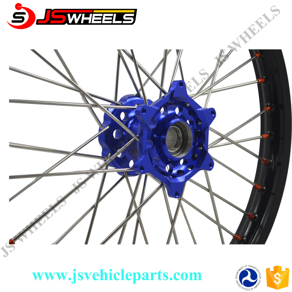 19Inch 16 Inch Pit Bike Alloy CNC Hole wheels for KTM SX85