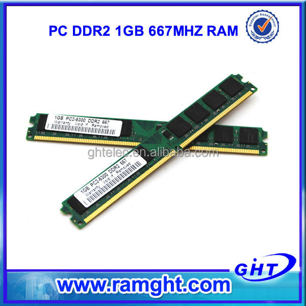 Wholesale computer hardware ETT chips 1gb ddr2 memory module 667mhz