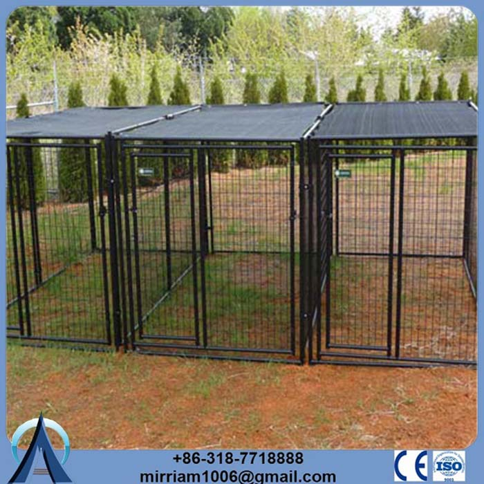 High quality metal or galvanized comfortable outdoor puppy pens
