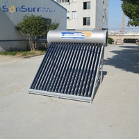 South Africa Sabs Certify Home Use 200 Liter Solar Hot Water Heater Geysers