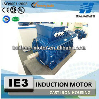 Cast Iron Three Phase IE3 Electric Motor with CE
