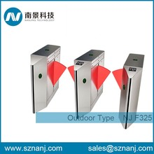 access control system infrared Sensor Flap Turnstile for office and meeting room