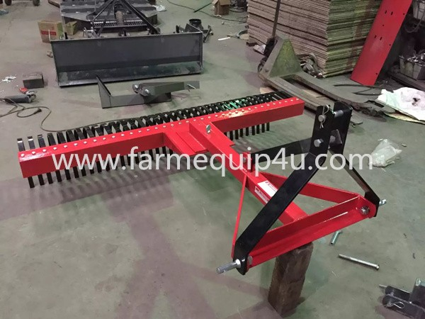 Tractor Implements 3-Point Landscape Raker 5ft