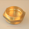 Brass hex head NPT plug hydraulic pipe fittings for heater