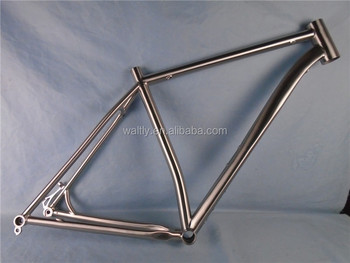 142*12 through axle dropout mtb titanium frame 29er bike